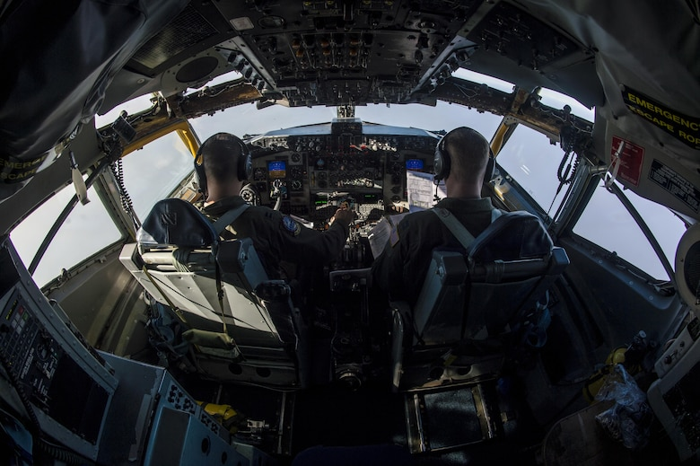 View of a cockpit