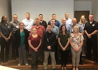 Twelve members of the 131st Bomb Wing successfully complete the Mentoring for Results course at Jefferson Barracks, Mo., Aug. 6, 2017. As part of a new wing initiative, all 131st BW Guardsmen at Jefferson Barracks and Whiteman AFB will have the opportunity to attend this professional development course. (Courtesy photo)