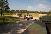 Marines from II Marine Expeditionary Force units are operating at Blount Island Command for Maritime Prepositioning Force Exercise 17, leading into an upcoming amphibious exercise.