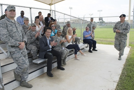 A honorary commanders' tour was hosted on Aug. 16, 2017, at Joint Base San Antonio-Lackland, Texas.