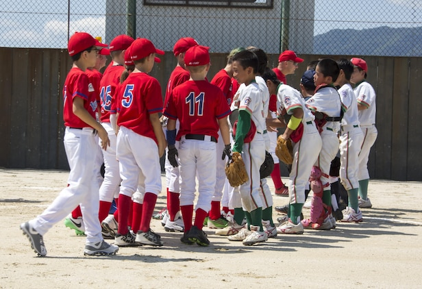 friendly baseball tournament unites american japanese families