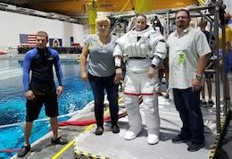 ERDC Safety trains with NASA
