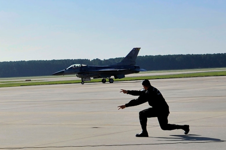 The Viper Demo Team trains to showcase the F-16's airpower during airshows around the world.