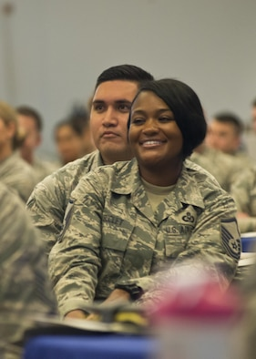 Airmen from across the 50 states, Puerto Rico, Guam, the Virgin Islands, and the District of Columbia that make up the Air National Guard enjoy camaraderie and fellowship at the Air National Guard's 2017 Enlisted Leadership Symposium in Camp Dawson, West Virginia. The three-day event was designed to provide enlisted Airmen of all levels with a broad range of leadership tools to apply in their units.