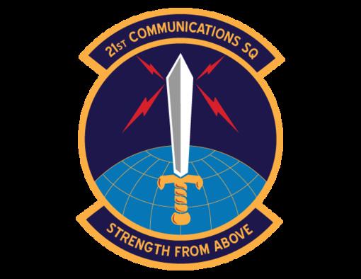21st Communications Squadron shield