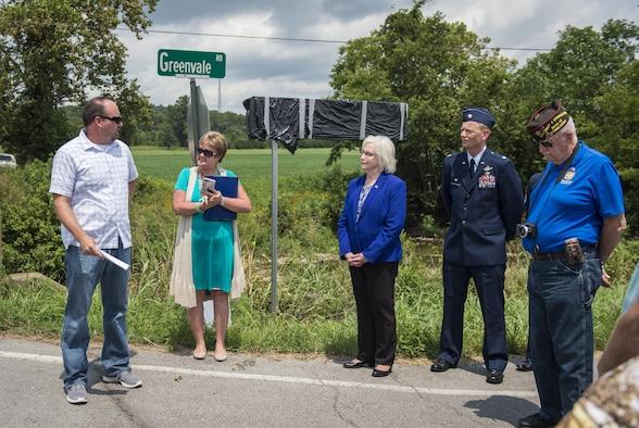"Tennessee bridge dedication ceremony in honor of fallen Air Commando, Staff Sgt. Robert ""Bobby"" J. McGuire, Jr."