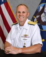 Commander, U.S. 7th Fleet, Vice Adm. Phillip G. Sawyer