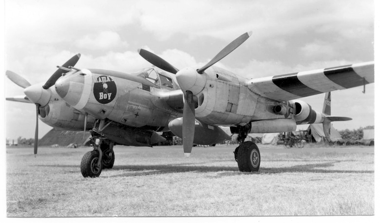 The 20th Fighter Group, now the 20th Operations Group, flew variations of the P-38 during World War II while they were stationed at King's Cliffe.