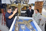 photo of Commander visits DLA Aviation at San Diego