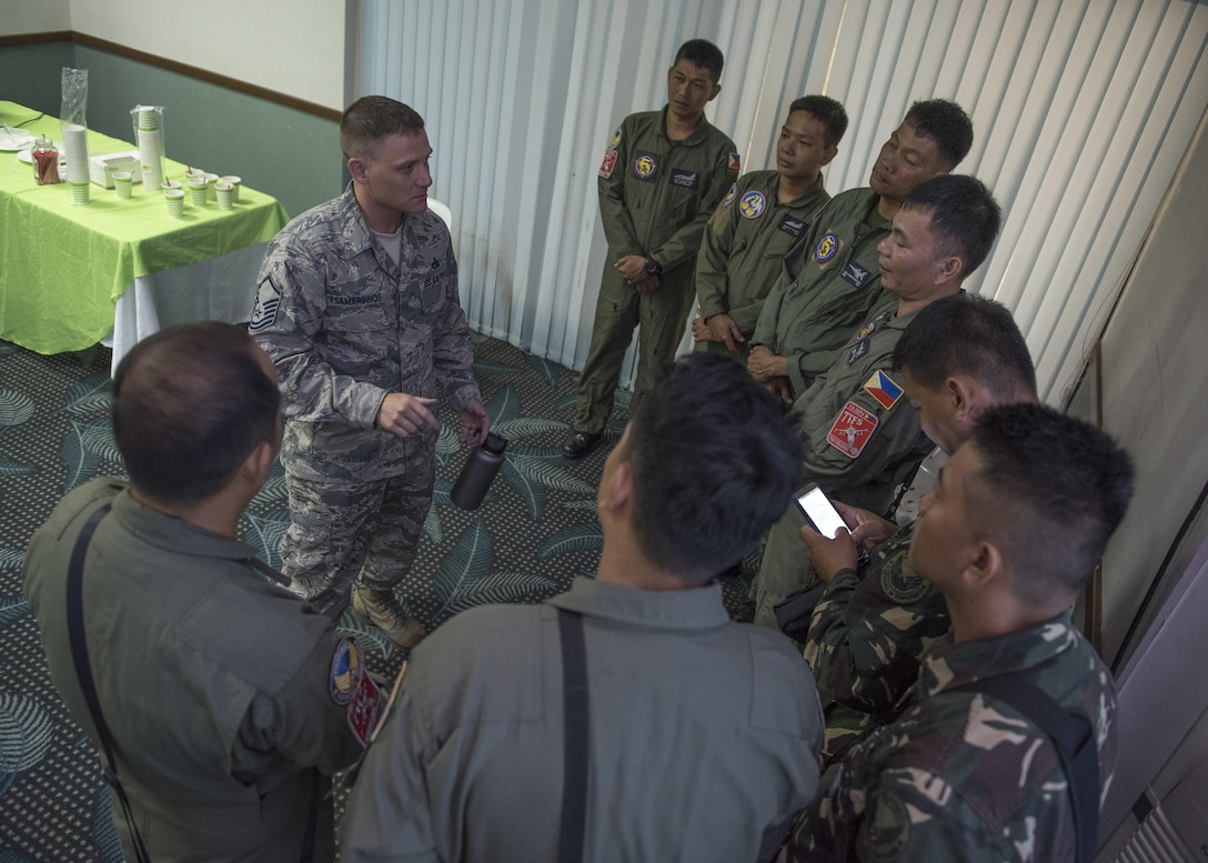 Aviation Subject Matter Exchange Unites U.S., Philippine Airmen