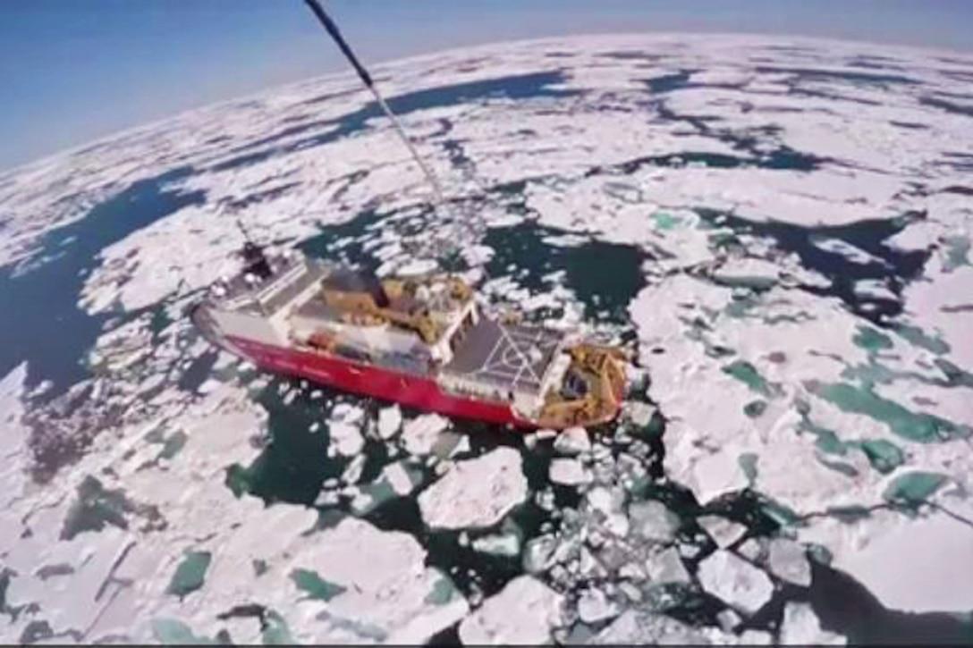 Polar Icebreaker USCGC Healy
