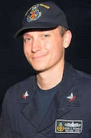 Electronics Technician 2nd Class Kevin Sayer Bushell, 26, from Gaithersburg, Maryland