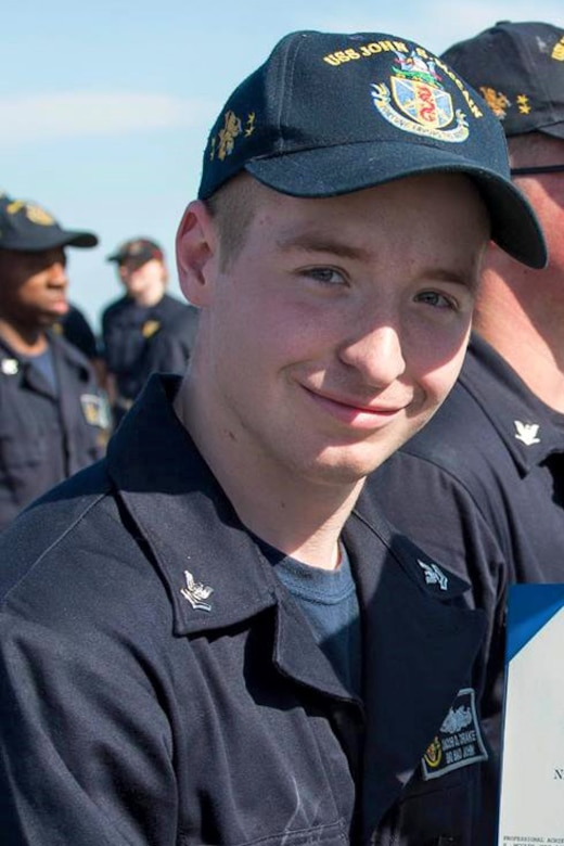 Electronics Technician 2nd Class Jacob Daniel Drake, 21, from Cable, Ohio