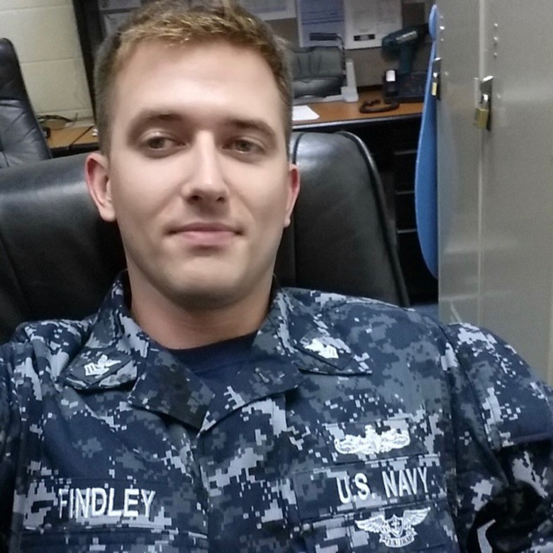 Electronics Technician 1st Class Charles Nathan Findley, 31, from Kansas City, Missouri