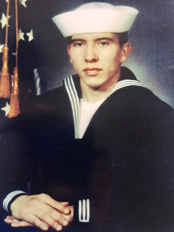 Interior Communications Electrician 1st Class Abraham Lopez, 39, from El Paso, Texas