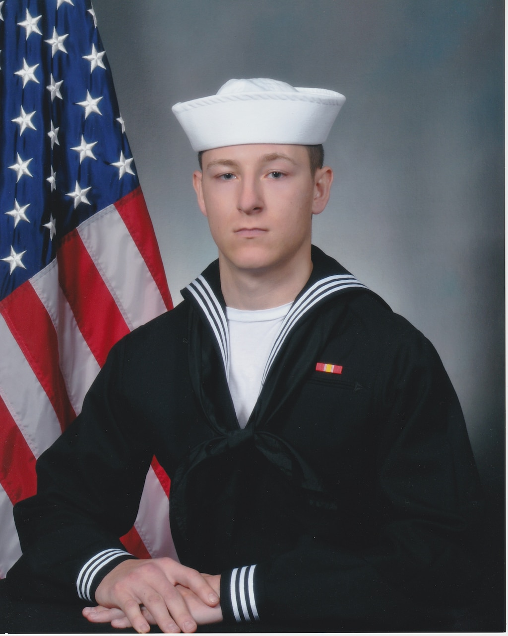 Electronics Technician 3rd Class Kenneth Aaron Smith, 22, from Cherry Hill, New Jersey
