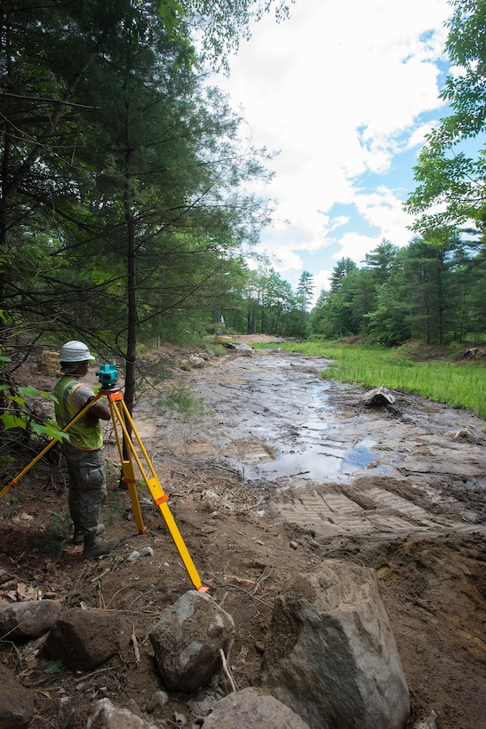 Engineers conduct training in Maine