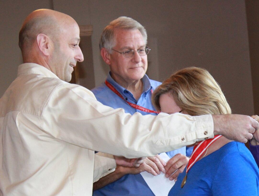 Jody Farhat honored with Bronze DeFleury Medal