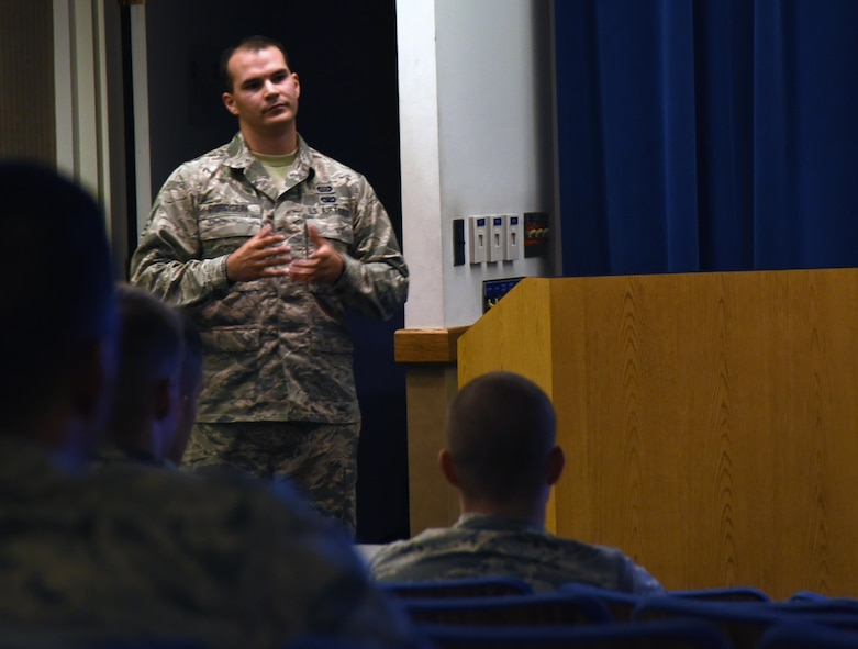 Kirtland airmen share stories of staying resilient