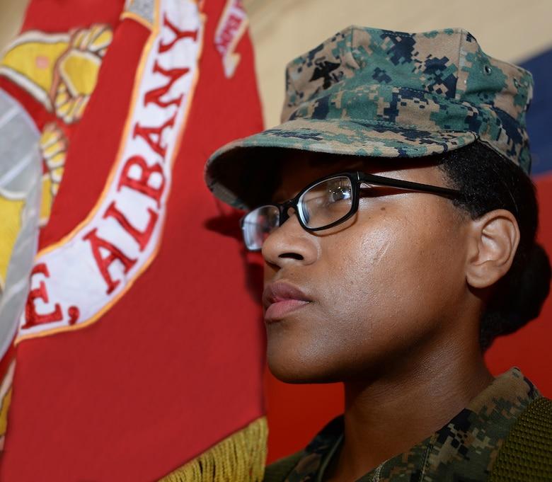 Set apart: Marine uses leadership principle to achieve meritorious promotion