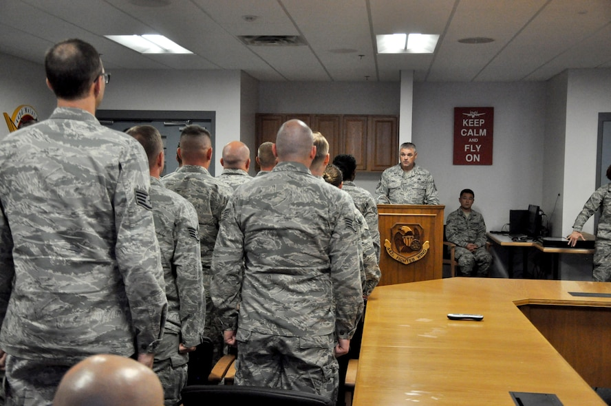 442d Maintenance Group NCO/SNCO induction ceremony