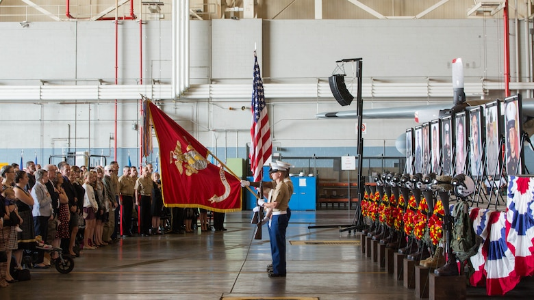 Honoring the fallen Marines of VMGR-452