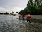 Texas Guard rescues in Houston