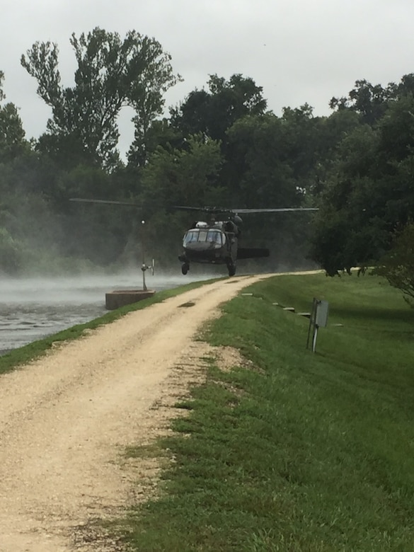 U.S. Army Reserve aviation assists with Hurricane Harvey rescue efforts