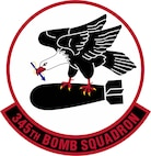 Official 345th Bomb Squadron Patch