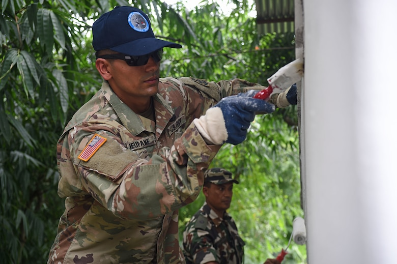 U.S. Soldier returns home to Nepal for PACANGEL mission