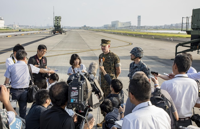 Japan Air Self-Defense Force Conducts Patriot Advanced Capability-3 training at Marine Corps Air Station Iwakuni