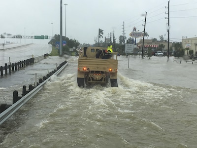79th Quartermaster Company assists in Hurricane Harvey rescue efforts
