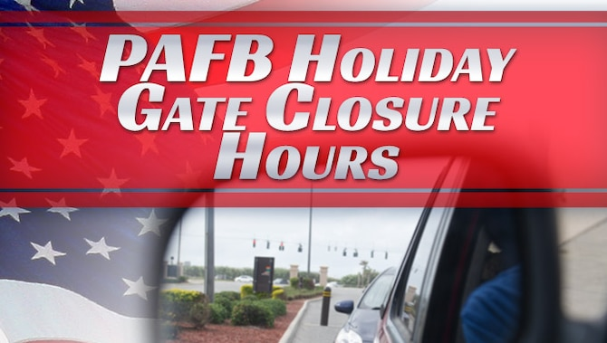 Adjusted gate hours for Labor Day Weekend