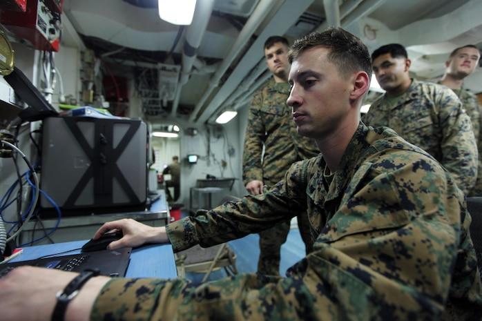 Award-winning engineering team keeps Marines connected while afloat