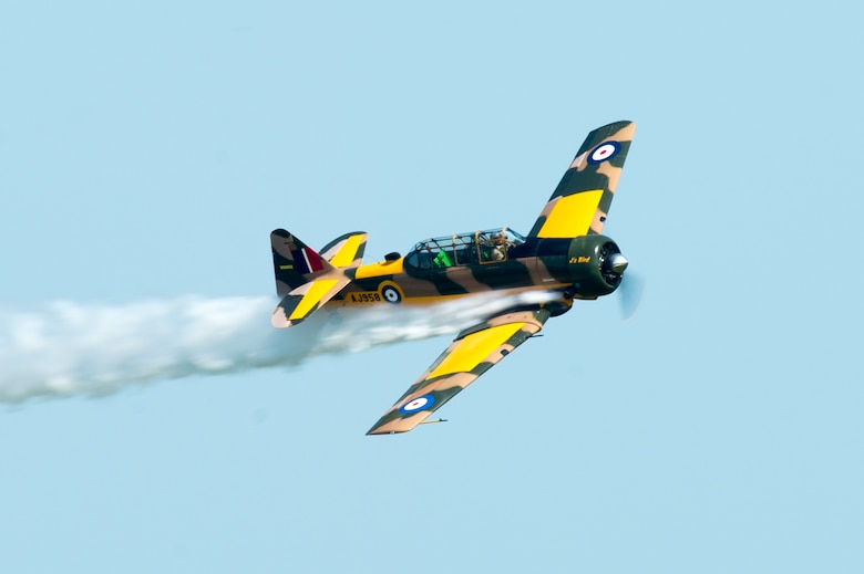 "John ""Skipper"" Hyle performs a high-speed pass at the Thunder Over Dover Open House and Airshow Aug. 26, 2017, at Dover Air Force Base, Del. The open house is a way for Dover AFB to thank local and regional communities for their ongoing support. (U.S. Air Force photo by Mauricio Campino)"