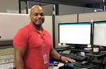Defense Logistics Agency Aviation - Cherry Point employee Oscar Moore, works as a sustainment support specialist in the Customer Support Directorate.