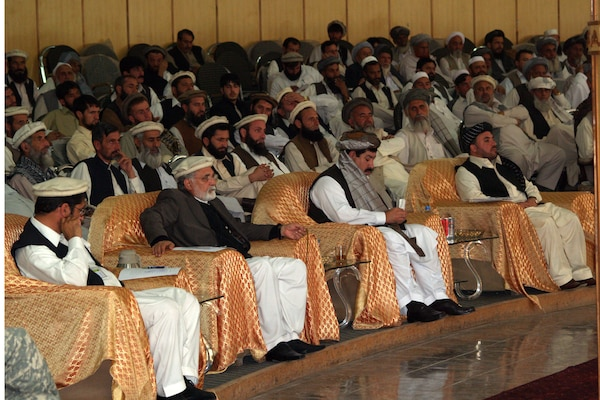 In October 2009, provincial governors gather to lay out their homegrown plan to improve the security and development of the four easternmost Afghanistan provinces.