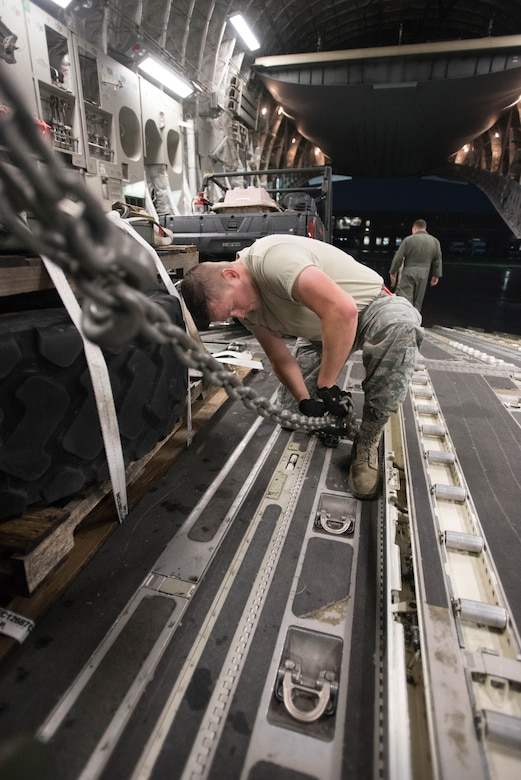 Kentucky Air Guardsmen deploy for Hurricane Harvey rescue operations