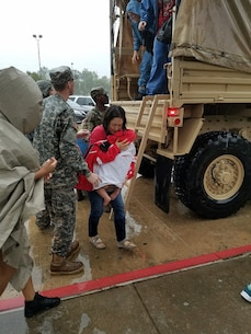 Army Reserve continues Hurricane Harvey rescue efforts