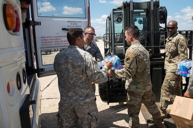 JBSA joins hurricane Harvey disaster relief efforts