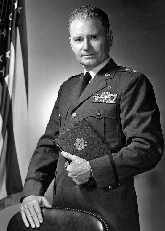 Chaplain Maj. Gen. Robert P Taylor, poses for a photo. (Courtesy photo)
