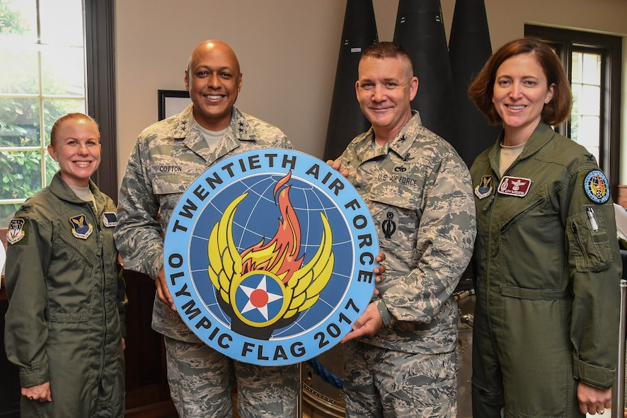 The 20th Air Force will hold its first week-long, Olympic Flag exercise at F. E. Warren Air Force Base, Wyoming, to bring ICBM operators from the three missile wings together to demonstrate their expertise and to collect best practices across the ICBM force.