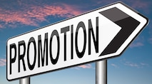 Promotions announced.