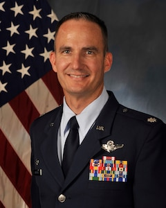 Lt Col Brian T. Hobbins is the Commander, 479th Operations Support Squadron
