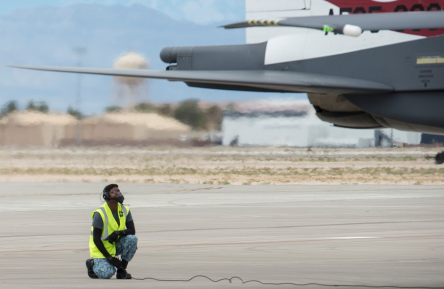 Republic of Singapore Air Force trains at Nellis AFB
