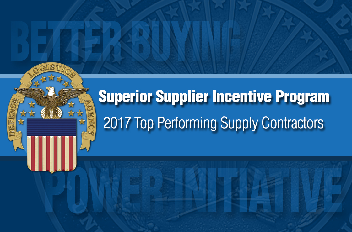 Defense Logistics Agency announces Superior Suppliers for 2017