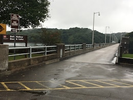 The U.S. Army Corps of Engineers Nashville District announces Dale Hollow Dam Road at the dam in Celina, Tenn., is closing to all traffic 7:30 a.m. to 5 p.m. Sept. 13, 2017 while maintenance personnel perform a routine inspection of the bridge. (USACE photo by Bradley Potts)
