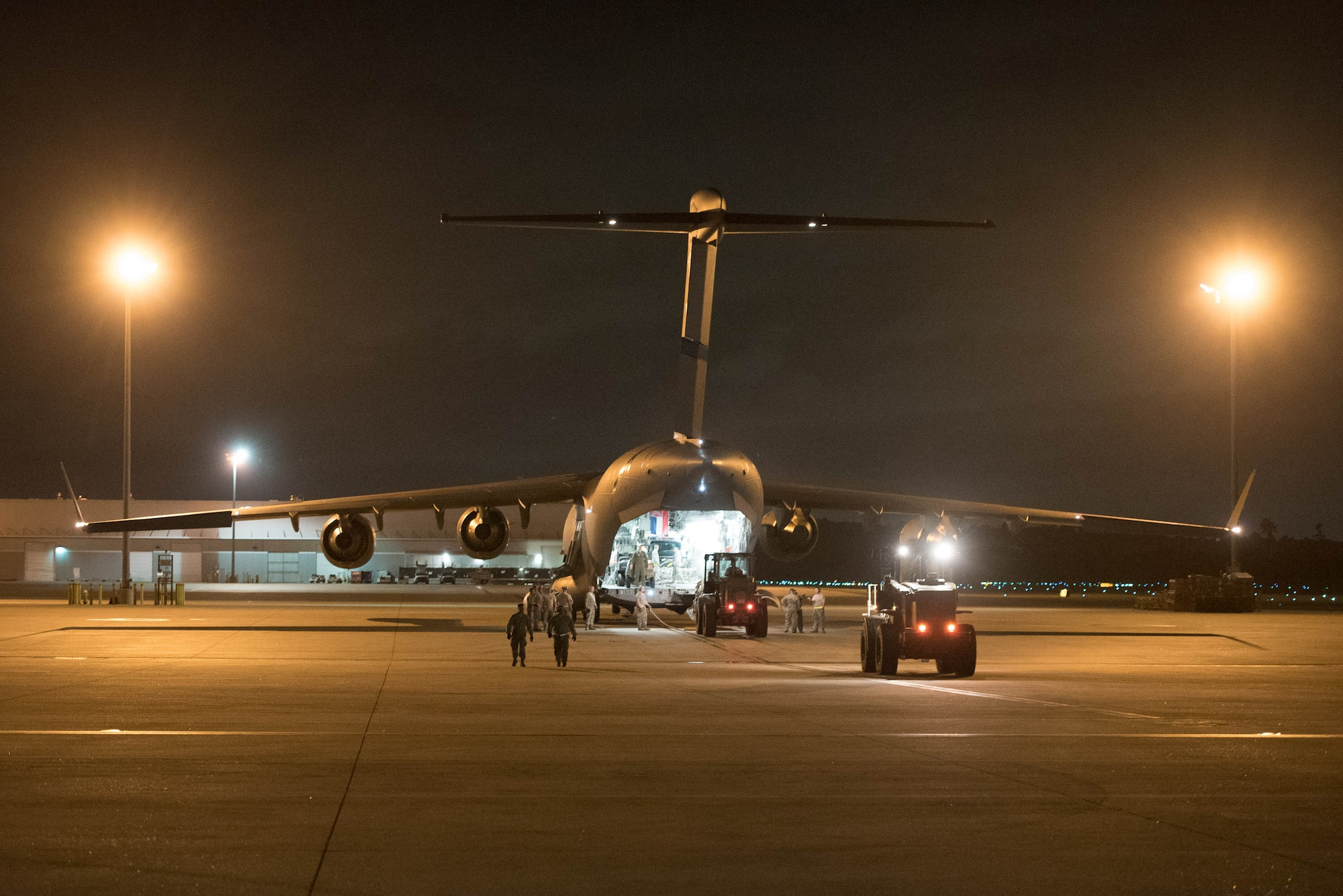 Kentucky Air Guard establishes aeromedical evacuation hub for hurricane relief