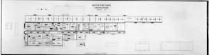 Bldg. 3001 floor plan in the 1940s.