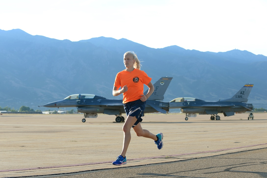 Two Airmen assigned here have been selected to run in the Air Force Marathon Sept. 16 as Air Force Materiel Command team members.